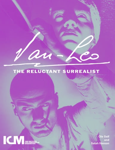 "Book cover art for ""Van-Leo: The Reluctant Surrealist"""