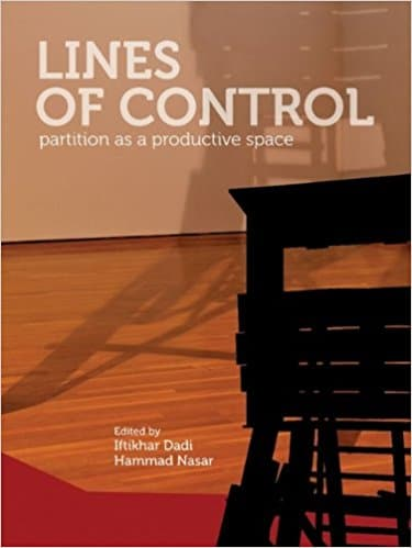 "Book cover art for ""Lines of Control: Partition as a Productive Space"""