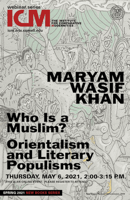 Maryam Wasif Khan, Who Is a Muslim? poster image with book cover