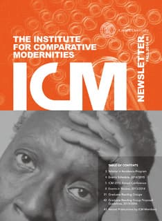 ICM newsletter Fall 2014