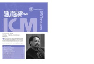 icm newsletter Fall 2010